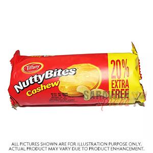 Nutty Bites Carmel Choc Cashew 165G