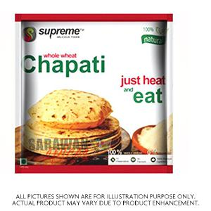 Supreme Fresh Chappati 5Pcs