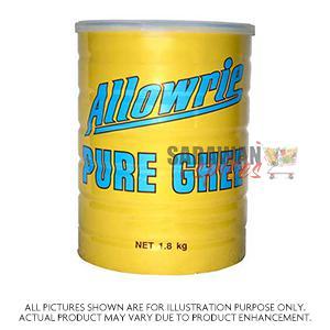 Allowrie Pure Ghee 1.8Kg