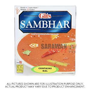 Gits Sambhar  200G