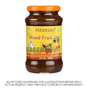 Patanjali Mixed Fruit Jam 500G