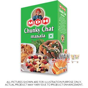 Mdh Chunky Chat Msl 100G