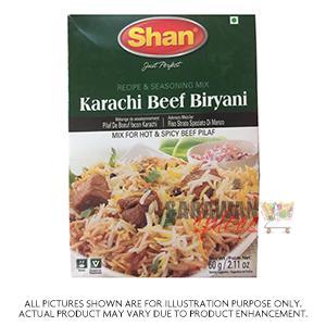 Shan Beef Biryani Mix 60G