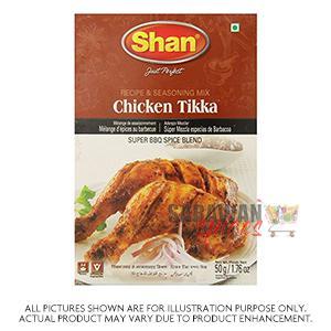 Shan Chi Tikka Mix 50G