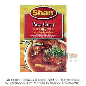 Shan Paya Curry 50G