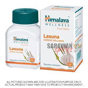 Himalaya Lasuna 60 Tabs