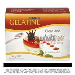 Gelatine 50G