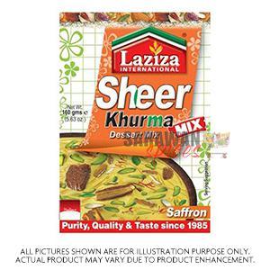 Laziza Sheer Khurma Saffron 160G