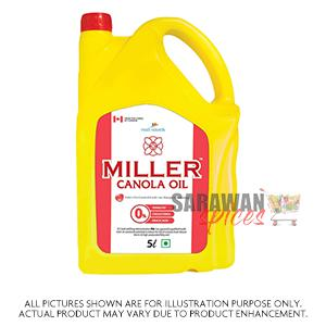 Miller Canola Oil 5Lt