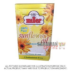 Miller Sunflower Oil 20Lt