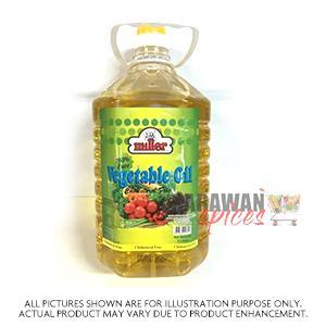 Miller Vegetable Oil 5Lt