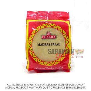 Chakra Madras Papad 200 G