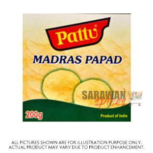 PATTU MADRAS PAPPAD 200 g