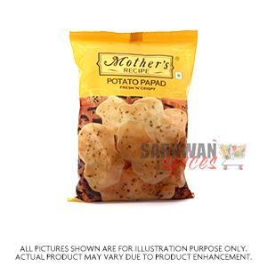 Mothers Potato Papad 75G