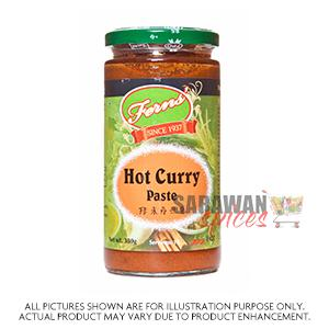FERNS HOT CURRY PASTE 380 g