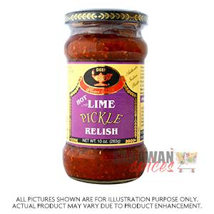 Deep Hot Lime Pickle 283G