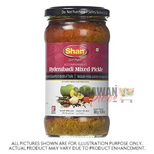 Shan Hyd Mixed Pickle 300G