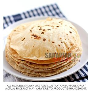 Indian Wholemeal Roti 10Pc