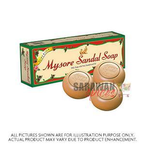 Mysore Sandal Soap 150G X 3Pcs