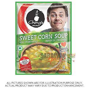 Chings Sweet Corn Veg Soup 55G