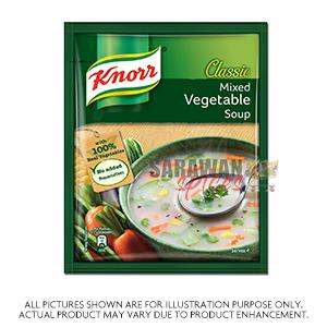Knorr Mixed Vegetable Soup 45G