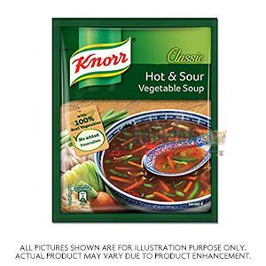 Knorr Hot&Sour Veg Soup 43G