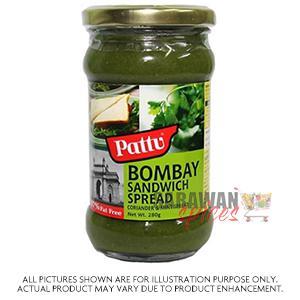 Pattu Bombay Sndwich Spread 280G