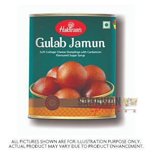 Haldiram (Del) Gulab Jamun 1Kg