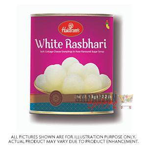 Haldiram (Del) White Rasbhari 1Kg