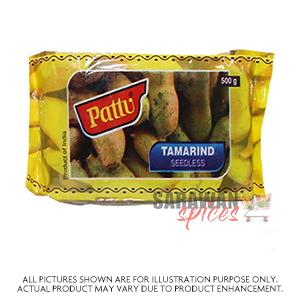 Pattu Tamarind Seedless 500G