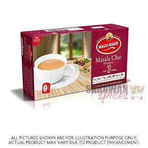 Waghbakri Tea Bags (Masala Chai) 100Bag