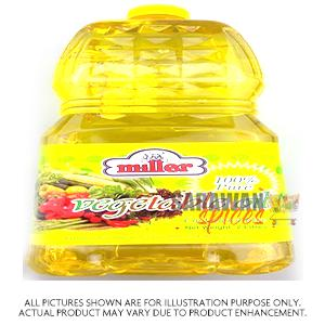Miller Vegetable Oil 20Lt