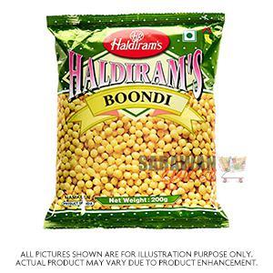 Haldiram (Del) Boondi Plain 200G