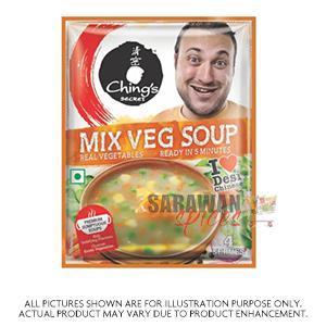Ching Mix Veg Soup 55G