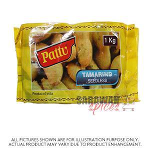 Pattu Tamarind Seedless 1Kg