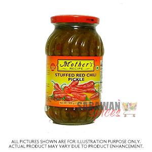 Mother Stuffed Red Chilli 500G