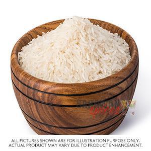 White Raw Rice 5Kg