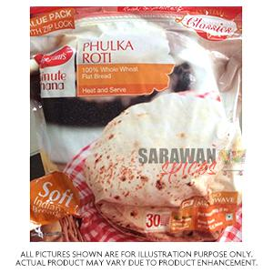 Haldiram (Del) Phulka Roti 30Pc