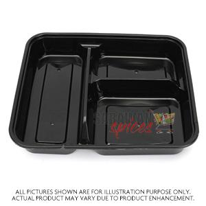 3 Compartment Plate 20Pcs/25Pcs