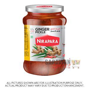 Nirapara Ginger Pickle 400G
