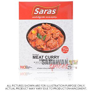 Saras Meat Curry Gravy Mix 400 G