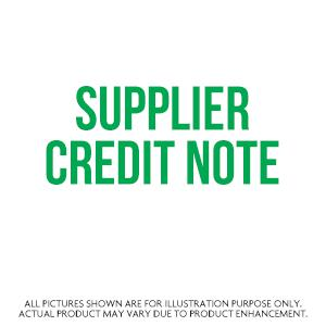 Supplier Credit Note
