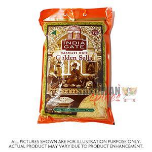 India Gate Golden Sella Rice 5Kg