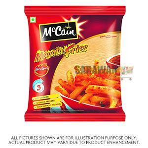 Mccains Masala Fries 375G/400G