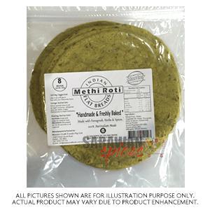 Indian Methi Roti 8Pcs