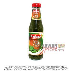 National Green Chilli Sauce 300G