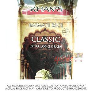 Khans Basmati Classic 5Kg