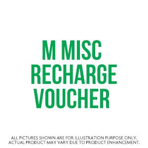 M Misc Recharge Voucher
