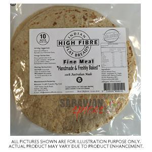 Indian High Fibre Roti 10Pcs