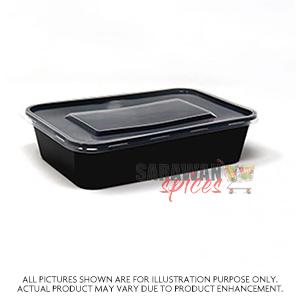 Rectangle Containers & Lids 50Pc
